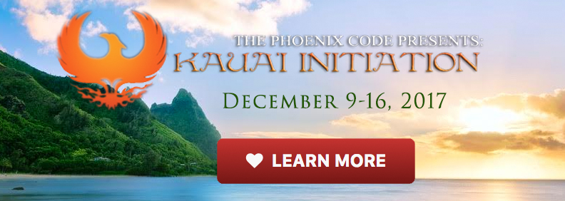 The Phoenix Code presents: Kaua'i Initiation. December 1-8, 2012. Learn more...